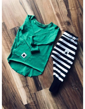 Green T Shirt Little Star