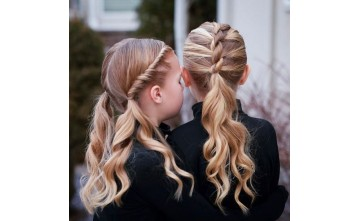 Hairstyles for our little princesses.