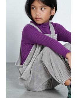 Purple ripped purple blouse