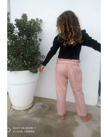 Pink  leather pant