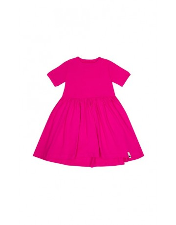 BASIC DRESS - FUCHSIA