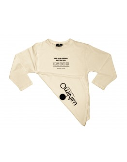 Black uniform set with MOI NOI pocket