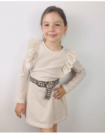 Dress  with rufless