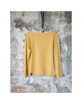 Oxford Yellow- Long Sleeve T-shirt