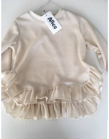 Blouse  with rufless