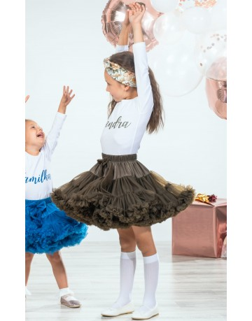 PETTISKIRT - BLACK SKIRT