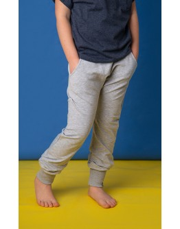 TROUSERS FOR THE WHOLE YEAR -  GRAY