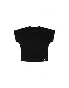 KIMONO T-SHIRT - BLACK