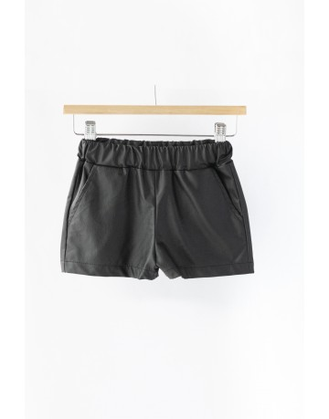 Short Leatherette Shorts