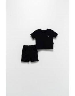 T-shirt set with black shorts MOI NOI