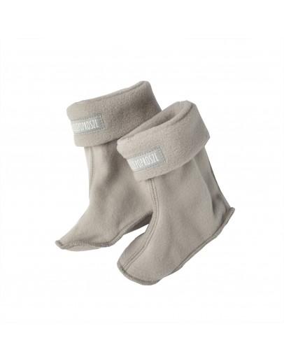 Gray fleece undersuit