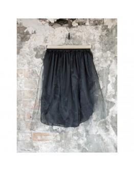 Ibiza Tulle Belt- Black