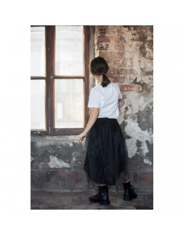 Ibiza Tulle Belt- Black